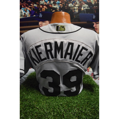 Photo of 2017 Memorial Day Game-Used Jersey: Kevin Kiermaier