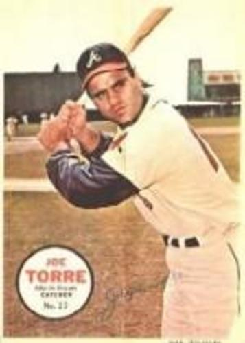 Photo of 1967 Topps Posters Inserts #27 Joe Torre
