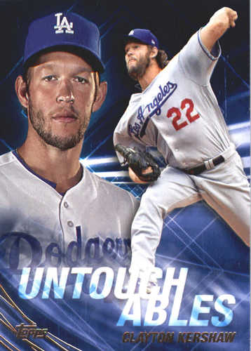 Photo of 2017 Topps Update Untouchables #U21 Clayton Kershaw