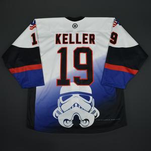 Clayton Keller - 2016 U.S. National Under-18 Development Team - Star Wars Night Game-Worn Jersey