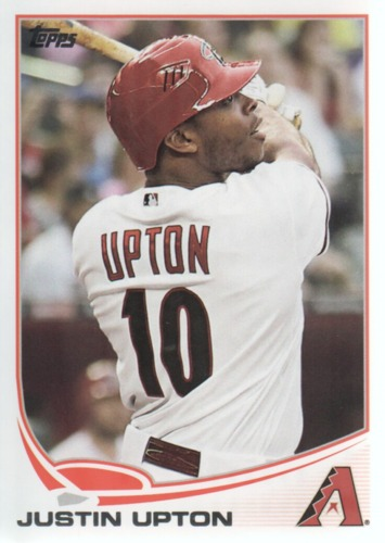Photo of 2013 Topps #110A Justin Upton