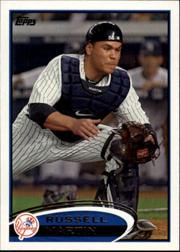 Photo of 2012 Topps #237 Russell Martin