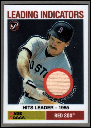 Photo of 2005 Topps Pristine Legends Leading Indicators Relics #WB Wade Boggs Bat E