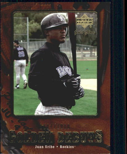 Photo of 2001 Upper Deck Gold Glove #101 Juan Uribe GD RC /1000