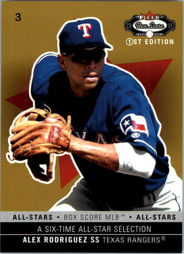 Photo of 2003 Fleer Box Score First Edition #157 Alex Rodriguez AS