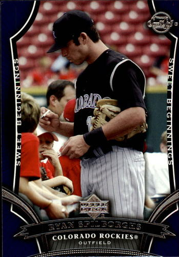 Photo of 2005 Sweet Spot #147 Ryan Spilborghs SB RC