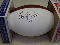 NFL - JETS CHAD PENNINGTON SIGNED PANEL BALL