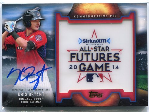 Photo of 2016 Topps Futures Game Pins Autographs #FGPAKB Kris Bryant