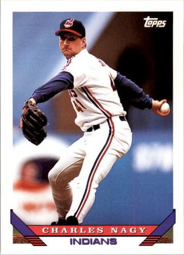 Photo of 1993 Topps #730 Charles Nagy