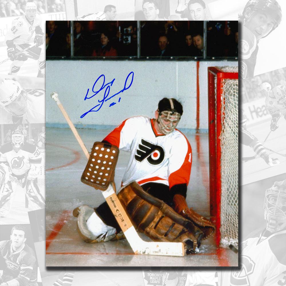 Doug Favell Philadelphia Flyers Rookie Autographed 8x10