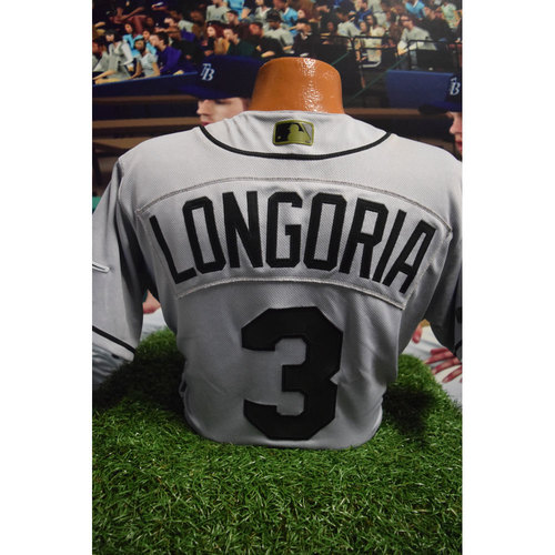 Photo of 2017 Memorial Day Game-Used Jersey: Evan Longoria