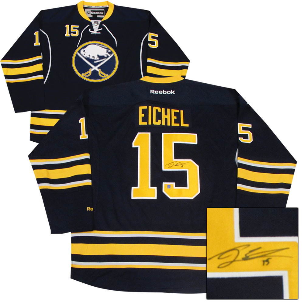 Jack Eichel Autographed Buffalo Sabres Jersey