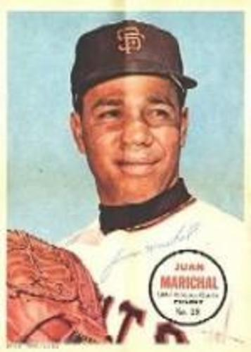 Photo of 1967 Topps Posters Inserts #28 Juan Marichal