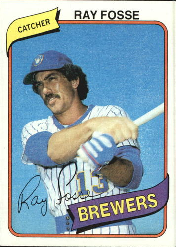 Photo of 1980 Topps #327 Ray Fosse DP