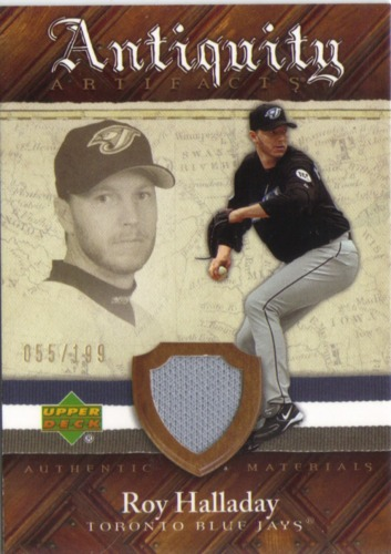 Photo of 2007 Artifacts Antiquity Artifacts #RH Roy Halladay