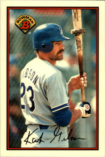Photo of 1989 Bowman Tiffany #351 Kirk Gibson