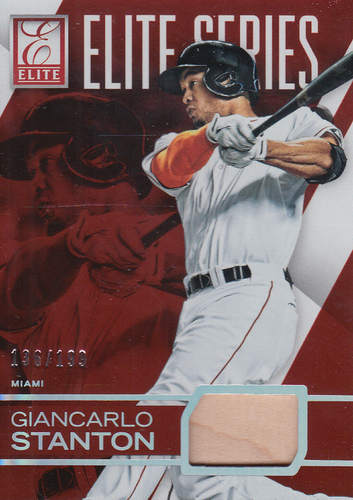 Photo of 2015 Elite Elite Series Materials #2 Giancarlo Stanton/199