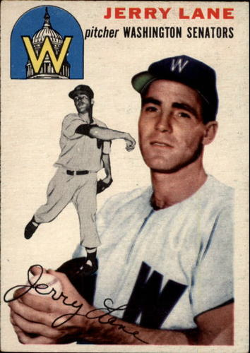 Photo of 1954 Topps #97 Jerald Hal Lane RC