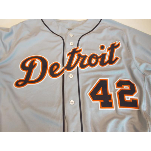 Photo of Game-Used Matt Boyd Jackie #42 Jersey