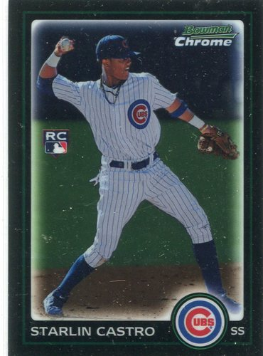 Photo of 2010 Bowman Chrome #211B Starlin Castro RC