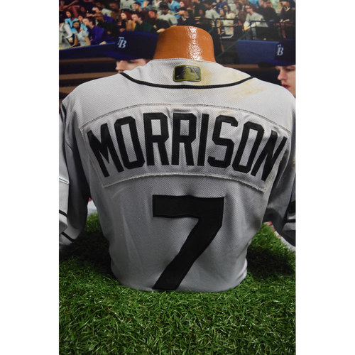 Photo of 2017 Memorial Day Game-Used Jersey: Logan Morrison
