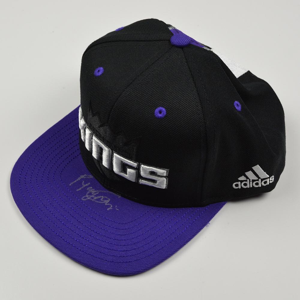 Georgios Papagiannis - Sacramento Kings - 2016 NBA Draft - Autographed Hat