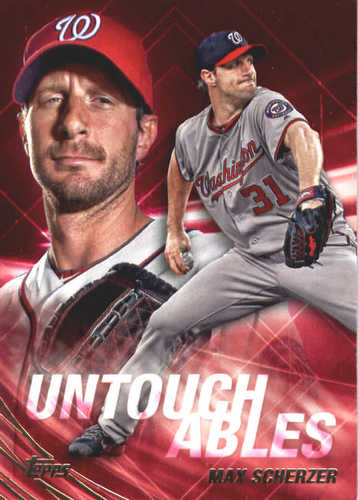 Photo of 2017 Topps Update Untouchables #U22 Max Scherzer