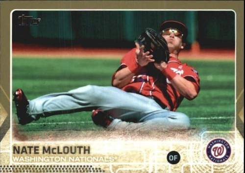 Photo of 2015 Topps Gold #676 Nate McLouth