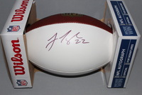 DOLPHINS - JAMAR TAYLOR SIGNED PANEL BALL