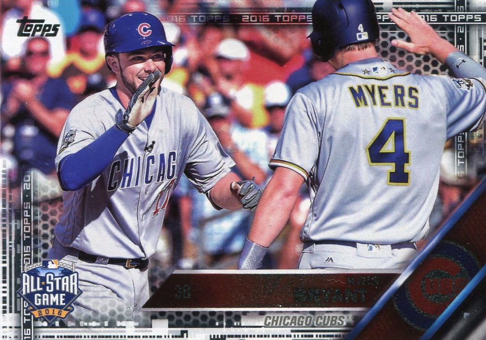 2016 Topps Update Black #US294 Kris Bryant AS