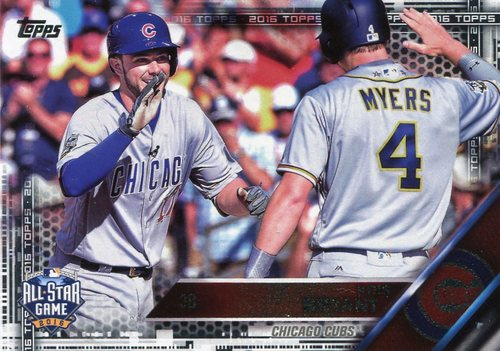 Photo of 2016 Topps Update Black #US294 Kris Bryant AS