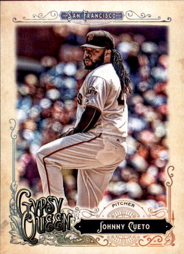 Photo of 2017 Topps Gypsy Queen #32 Johnny Cueto