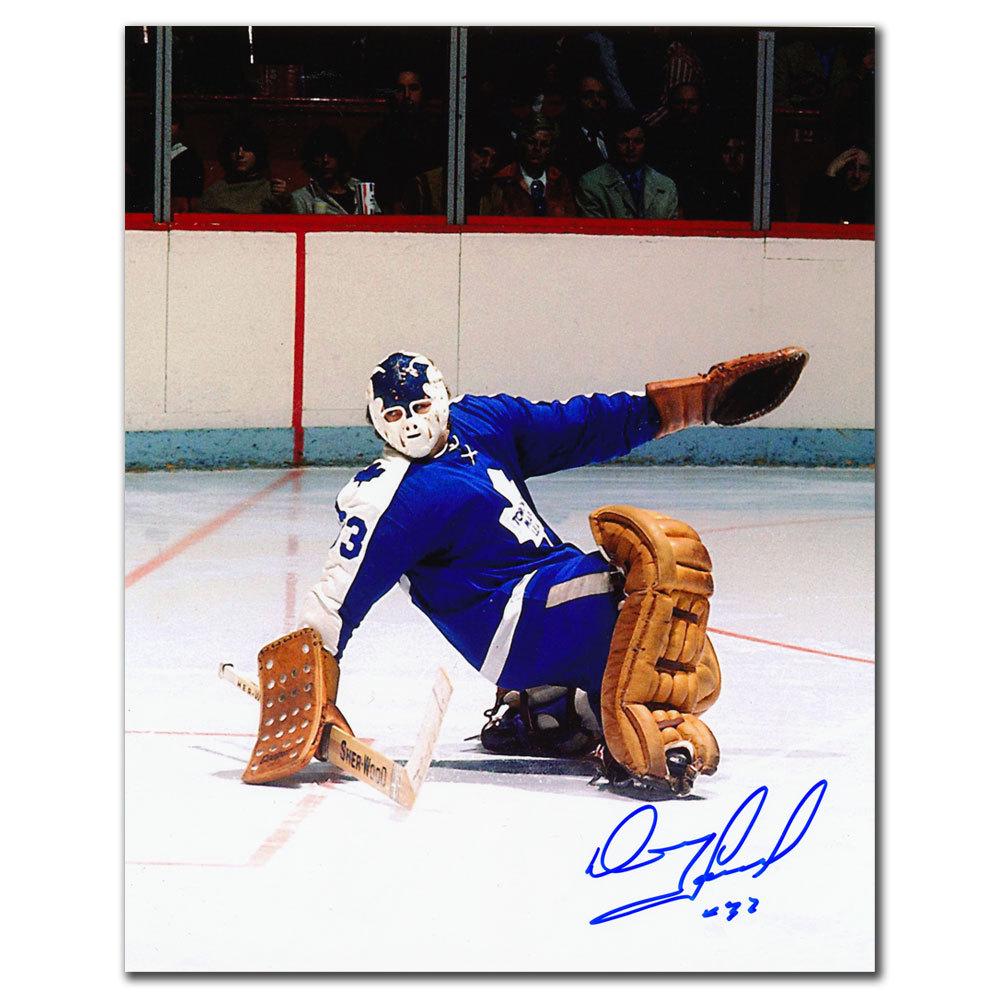 Doug Favell Toronto Maple Leafs Autographed 8x10