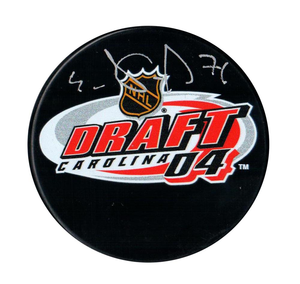 Evgeni Malkin - Signed 2004 NHL Entry Draft Puck