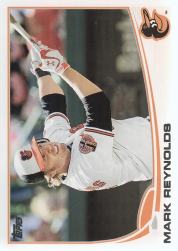 Photo of 2013 Topps #112A Mark Reynolds