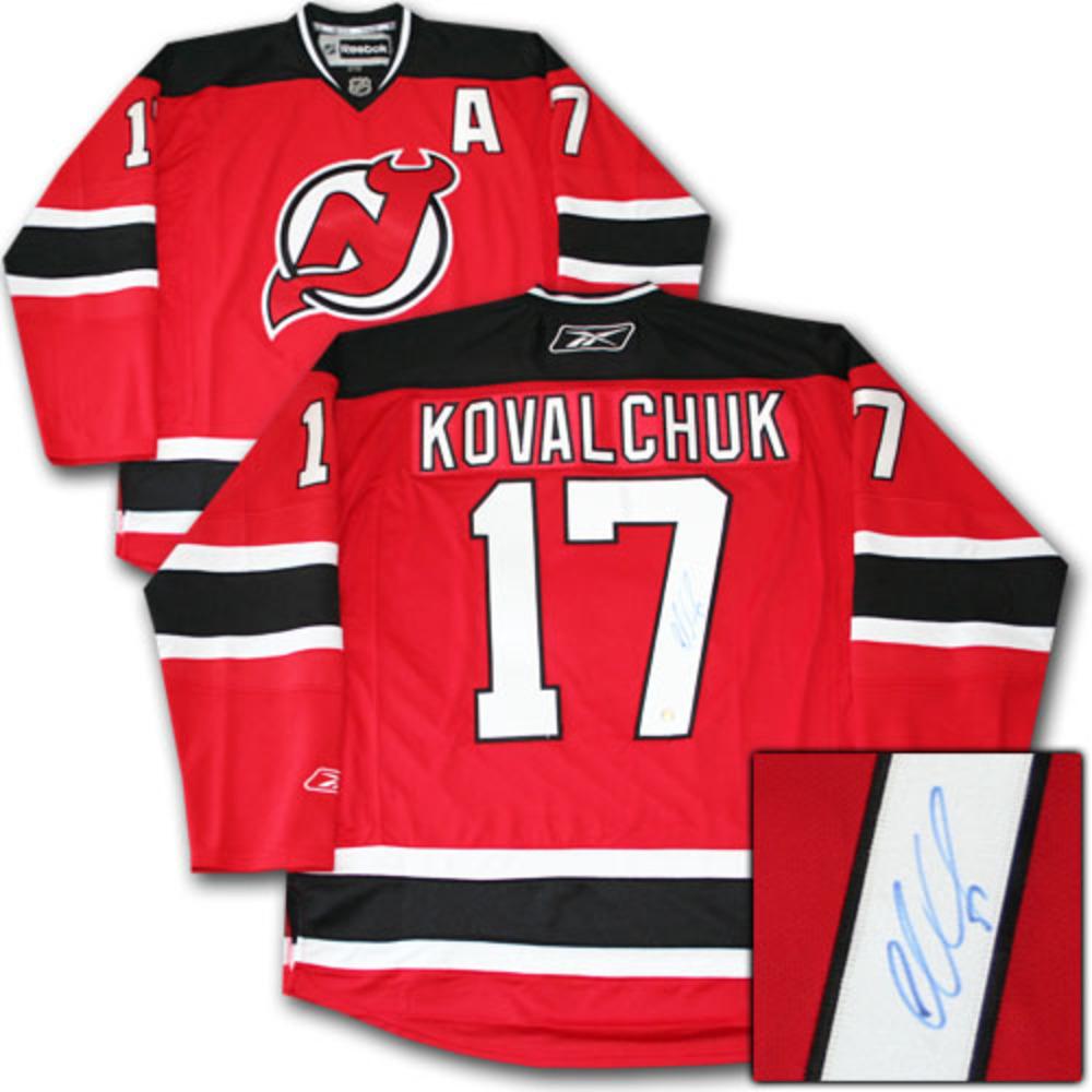 Ilya Kovalchuk Autographed New Jersey Devils Jersey