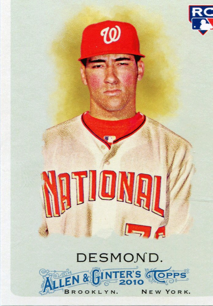 2010 Topps Allen and Ginter #172 Ian Desmond (RC)