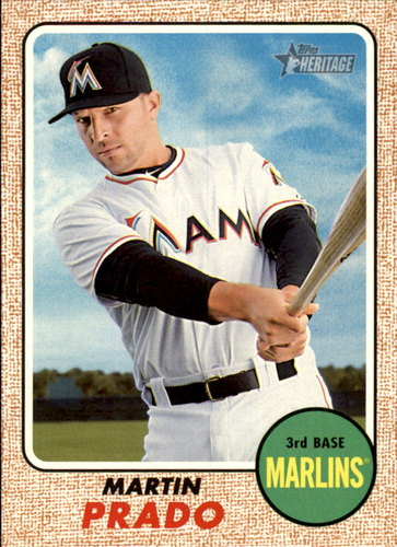 Photo of 2017 Topps Heritage #301 Martin Prado