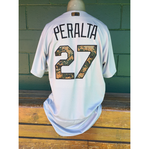 Photo of Cardinals Authentics: Jhonny Peralta Memorial Day Jersey