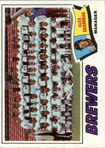 Photo of 1977 Topps #51 Milwaukee Brewers CL/Alex Grammas MG