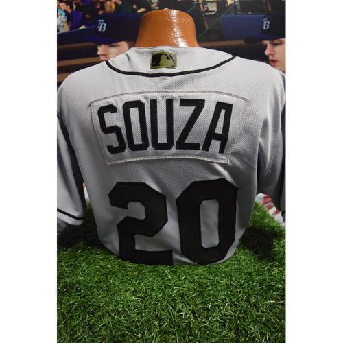 Photo of 2017 Memorial Day Game-Used Jersey: Steve Souza Jr.