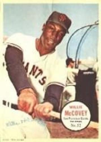 Photo of 1967 Topps Posters Inserts #32 Willie McCovey