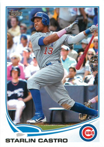 Photo of 2013 Topps #113 Starlin Castro