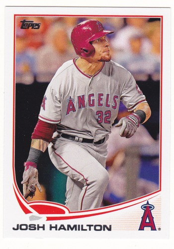 Photo of 2013 Topps #639 Josh Hamilton