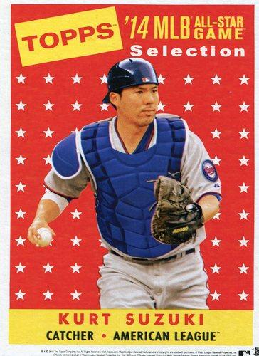 Photo of 2014 Topps 5x7 All-Star Selection Kurt Suzuki -- Part of exclusive Minneapolis FanFest set