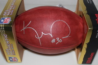 NFL - KENNY IRONS SIGNED AUTHENTIC FOOTBALL