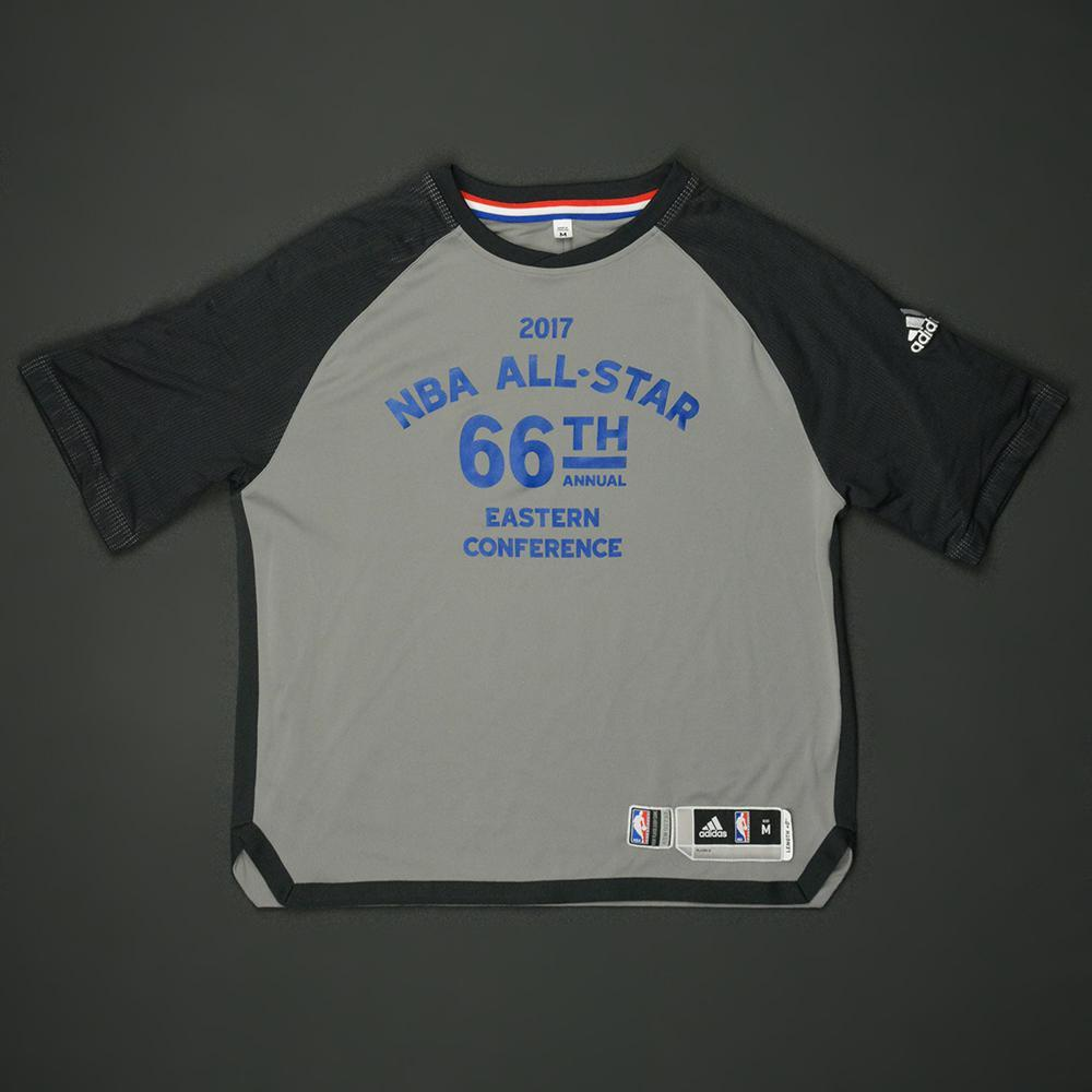 Kyle Lowry - 2017 NBA All-Star Game - Eastern Conference - Warmup-Worn Shooting Shirt