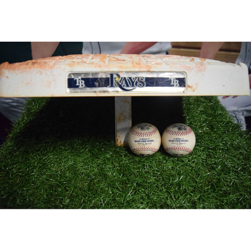 Photo of Game-Used Base: Albert Pujols #597 Home Run
