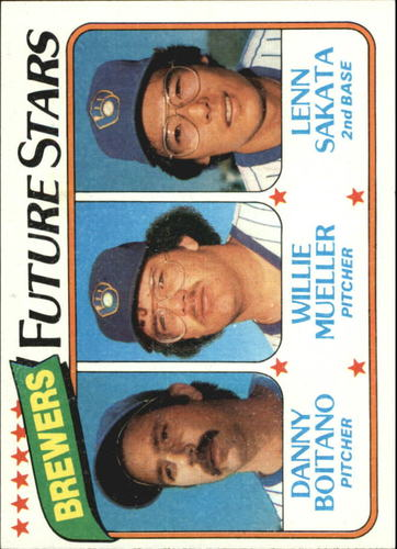 Photo of 1980 Topps #668 Danny Boitano RC/Willie Mueller RC/Lenn Sakata RC