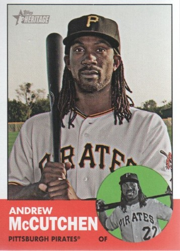 Photo of 2012 Topps Heritage #87A Andrew McCutchen